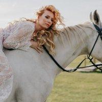 Фото с лошадьми :: Марина Ивженко
