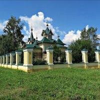 Никольская церковь в Слюдянке :: Leonid Rutov