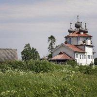 Каргопольское ожерелье. Богоявленская церковь :: Тата Казакова