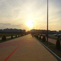 Дорога В Калининград со стадиона. :: галина