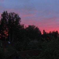 Закат  между двумя дождями... :: Наталья Герасимова