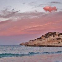 Розовое облачко на закате :: Aida10