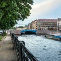 Синий мост и Мойка :: Юлия Батурина