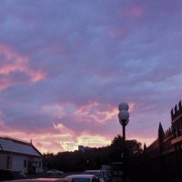 Сиреневый закат :: Ирина Via