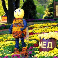 Цветочная пчёлка приветствует вас :: Тамара Бедай