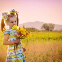 Полевые цветы :: Валентина Ткачёва