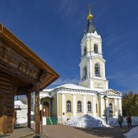 церковь Николая Чудотворца :: Владимир Иванов