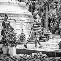 В храме Коломбо. Шри-Ланка. :: Ирина Токарева