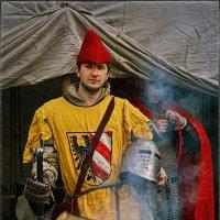 Рыцарь в желтом :: Цветков Виктор Васильевич