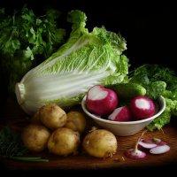 Просто овощи. :: Nata