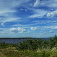 Летние облака :: Любовь Чунарёва