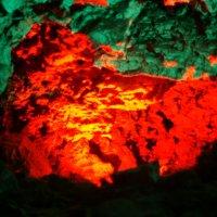 Цвета Кунгурской пещеры 3 :: Александр Дик