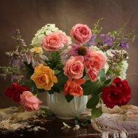 Розовый букет :: Маргарита Епишина