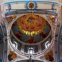 Крестовая часть Воскресенского собора.Вид на свод большой главы. :: Татьяна Помогалова