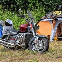 В лагере байкеров :: Nina Karyuk