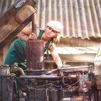 Трактористка! :: Елена Круглова
