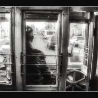 «За стеклом» :: Александра Бенцман
