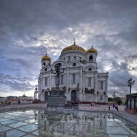 Храм Христа Спасителя :: Екатерина Рябинина