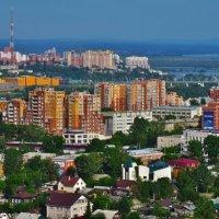 Город с окна, летний Иркутск :: Дмитрий Юдаков