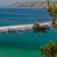 о.Крит, посёлок Бали, порт. :: Борис Иванов