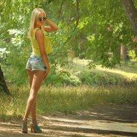 На аллее парка. :: barsuk lesnoi