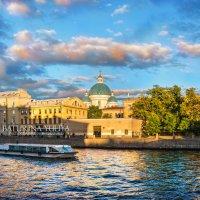 Измайловский собор и катер :: Юлия Батурина