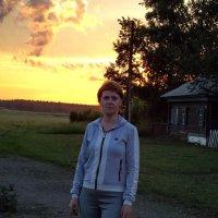 На фоне заката :: Светлана Рябова-Шатунова