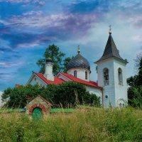 Церквушка деревя Бёхово :: Валерий