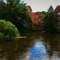 Люнебург. Вид на старую водяную мельницу :: Nina Yudicheva
