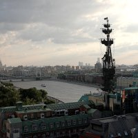 С крыши. :: Александр Бабаев