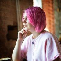 ..в своём розовом мире..) :: Лилия .