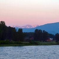 Рассвет над рекой Кокса :: Nina Streapan