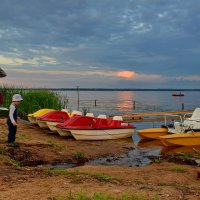 Вечер на озере Неро :: Olcen Len