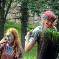 Игры с красками :: Татьяна Симонова