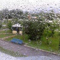 дождь в окно :: Владимир