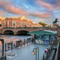 Вид на Аничков мост :: Юлия Батурина