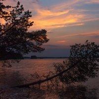 Закат над Выгозером :: Анжела Пасечник
