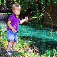 Маленький рыбак :: Наталья