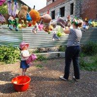 Постирали игрушки. :: Ильсияр Шакирова