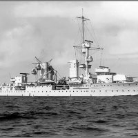 "German light cruiser ""Karlsruhe"" circa 1930. :: Александр"