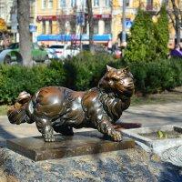 Памятник коту Пантюше :: Тамара Бедай