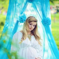 Фотосъемка беременности в парке :: марина алексеева