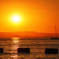 Прекрасный вечер на море! :: Андрей Гриничев