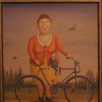 Прогулка с велосипедом и мужчиной :: Елена Павлова (Смолова)