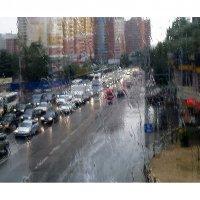 Дождь собирает пробки... :: Ирина Via