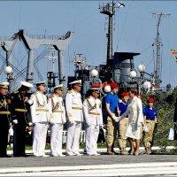 День ВМФ. Юнармию приветствует губернатор :: Кай-8 (Ярослав) Забелин