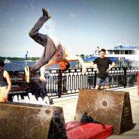 Чародей в воздухе.... :: Андрей Головкин