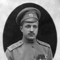 """1917 год рядовой канонир 48-го артполка в Румынии.  Медали: """"За усердие"""", """"Георгиевск :: Владимир Павлов"""