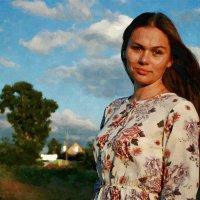 Украшен вечер золотом заката... :: Евгений Юрков