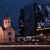 Вечером в Новосибирске :: Сергей Добрыднев
